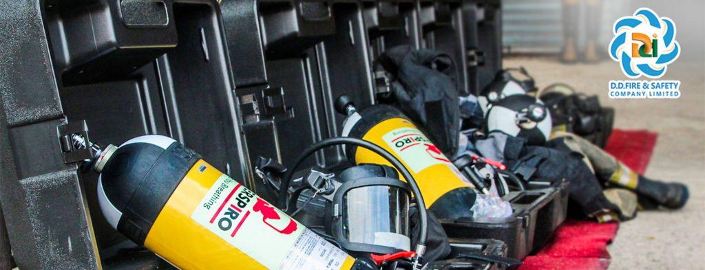 ชุดเครื่องช่วยหายใจสำหรับงานดับเพลิง SCBA INTERSPIRO