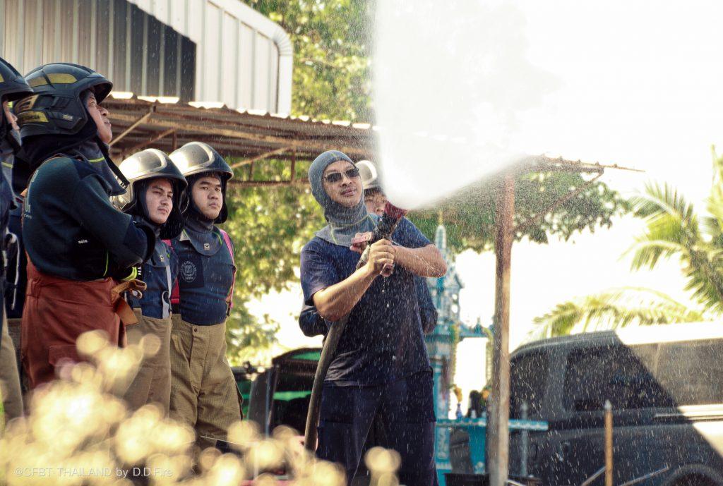 การฝึกอบรมดับเพลิงฯCFBT