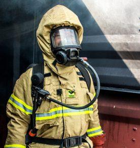 FIRE FIGHTING SUIT & EQUIPMENT