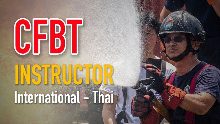 CFBT Thai Instrutor / International Instructor.